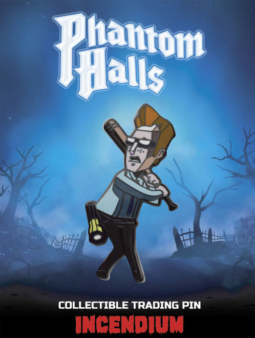 Phantom Halls The Nerd Lapel Pin