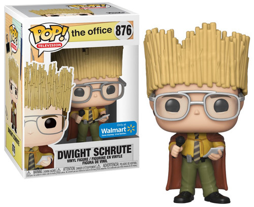 Funko The Office POP! TV Dwight Schrute Exclusive Vinyl Figure #876 [Hay King, Damaged Package]