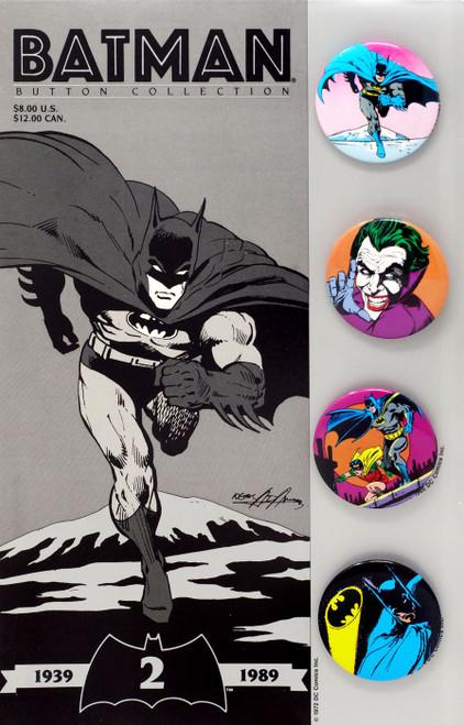 DC Batman 50th Anniversary Button Set [Version 2]