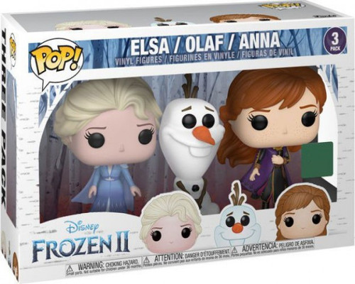 Funko Frozen 2 POP! Disney Elsa, Olaf & Anna Exclusive Vinyl Figure