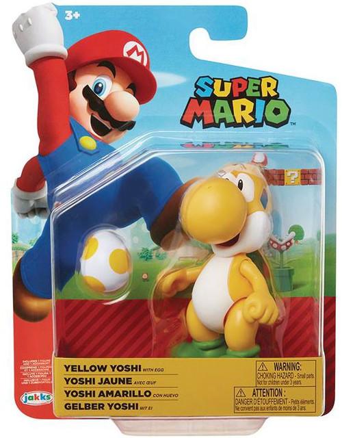 World of Nintendo Wave 19 Yellow Yoshi Action Figure [Egg]