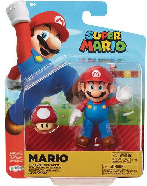 World of Nintendo Wave 19 Super Mario Action Figure [Red Mushroom]