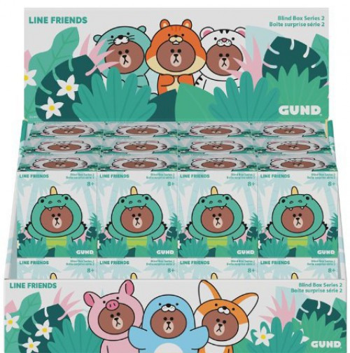 Series 2 Line Friends Plush Mystery Box [24 Packs]