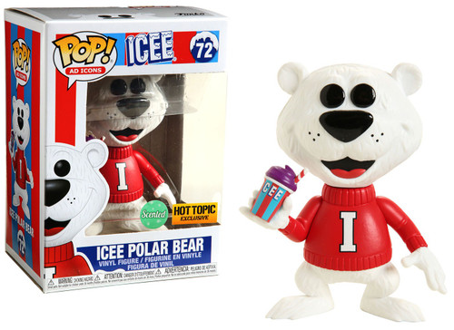 Funko POP! Ad Icons Icee Polar Bear Exclusive Vinyl Figure #72 [Scented]