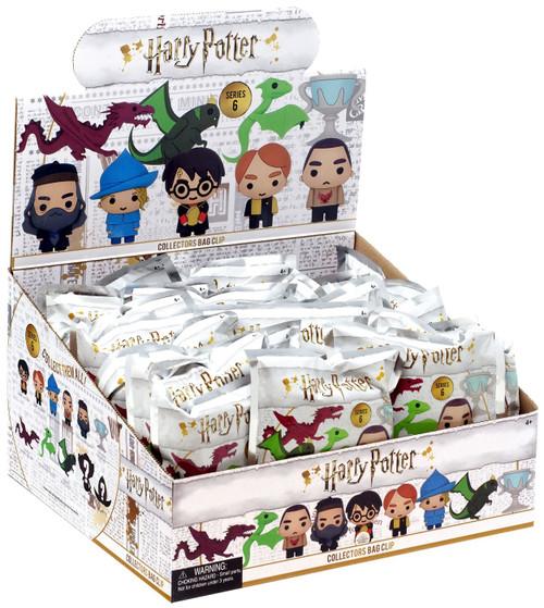 3D Figural Foam Bag Clip Harry Potter Series 6 Mystery Box [24 Packs]