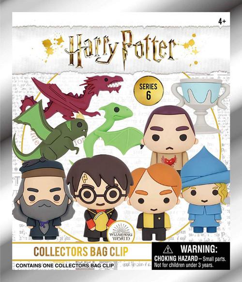 3D Figural Foam Bag Clip Harry Potter Series 6 Mystery Pack [1 RANDOM Figure]