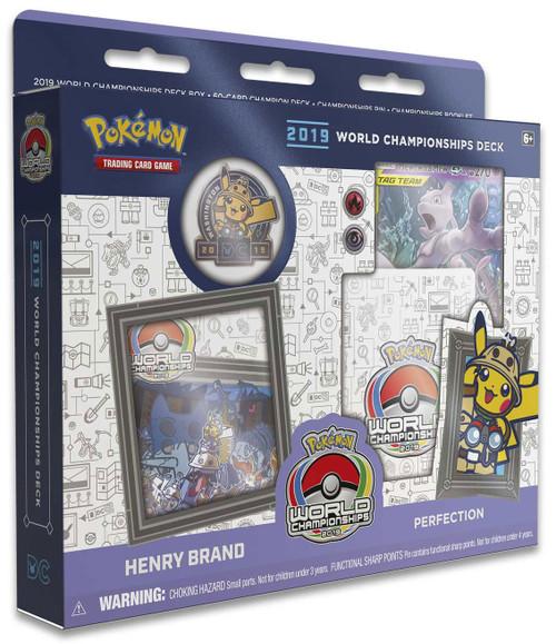 Pokemon Trading Card Game 2019 World Championships Henry Brand Starter Deck [Perfection]