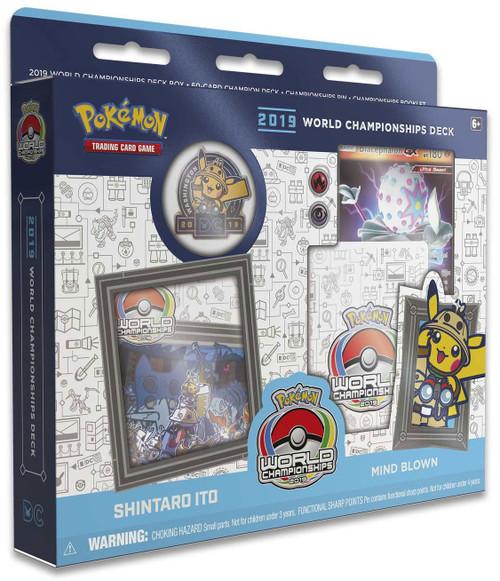 Pokemon Trading Card Game 2019 World Championships Shintaro Ito Starter Deck [Mind Blown]