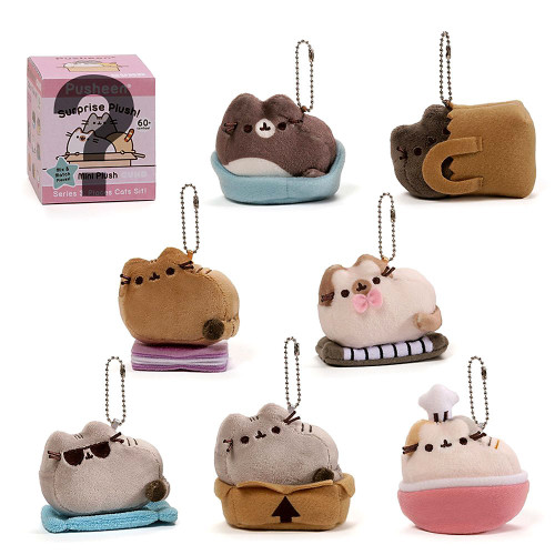 Pusheen Series 3 Places Cats Sit! Mystery Box [24 Packs]