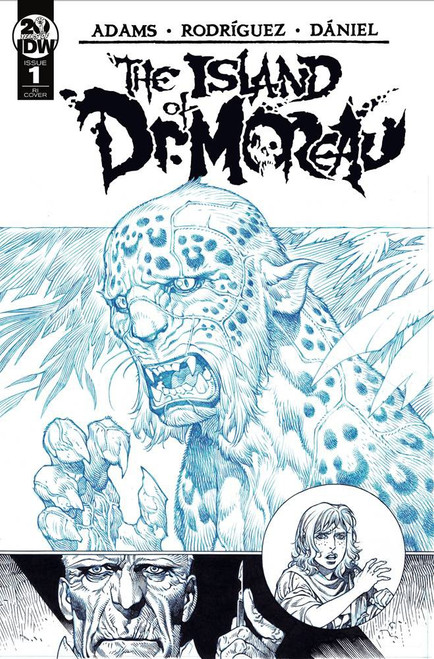 IDW The Island of Dr. Moreau #1 Comic Book [Gabriel Rodriguez Variant Cover]