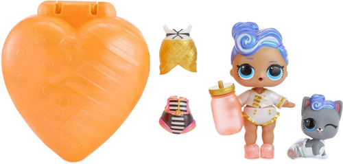 LOL Surprise Captain B.B. & Captain Puppy Doll & Accessories [ORANGE Bubbly Surprise, Loose]