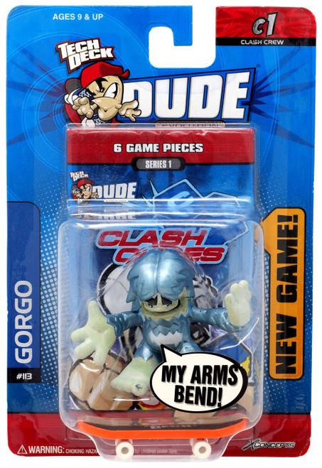 Tech Deck Evolution Clash Crew Series 1 Gorgo Mini Figure #113