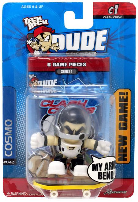 Tech Deck Evolution Clash Crew Series 1 Cosmo Mini Figure #042