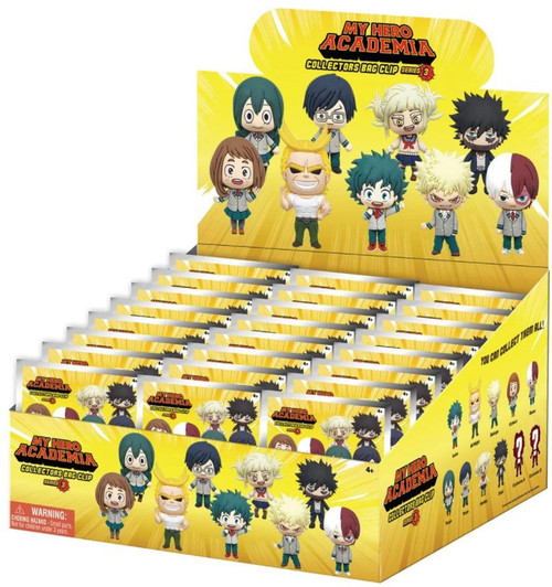 3D Figural Keyring My Hero Academia Series 3 Mystery Box [24 Packs]