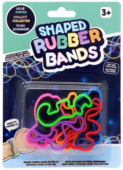 Shaped Rubber Bands Wildlife Shaped Rubber Band Bracelets