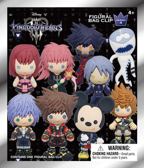 Disney 3D Figural Keyring Kingdom Hearts Series 4 Mystery Pack [1 Figure]