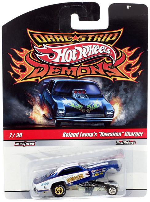 "Hot Wheels Drag Strip Demons Roland Leong's ""Hawaiian"" Charger Die-Cast Car"