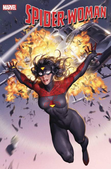 Marvel Comics Spider-Woman #1 Comic Book [Jung-Geun Yoon New Costume Cover]