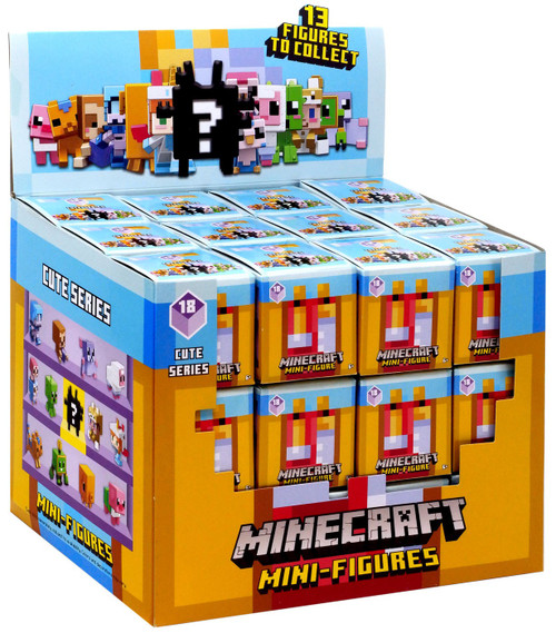 Minecraft Cute Series 18 Mystery Box [36 Packs]