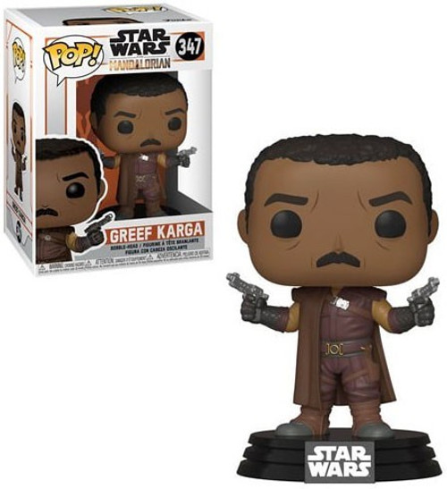 Funko The Mandalorian POP! Star Wars Greef Karga Vinyl Figure #347