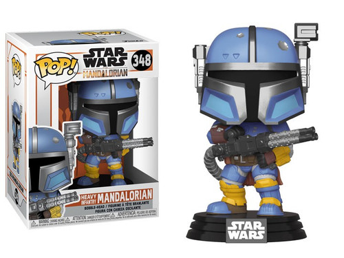 Funko The Mandalorian POP! Star Wars Heavy Infantry Mandalorian Vinyl Figure #348