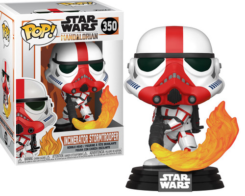 Funko The Mandalorian POP! Star Wars Incinerator Stormtrooper Vinyl Figure #350