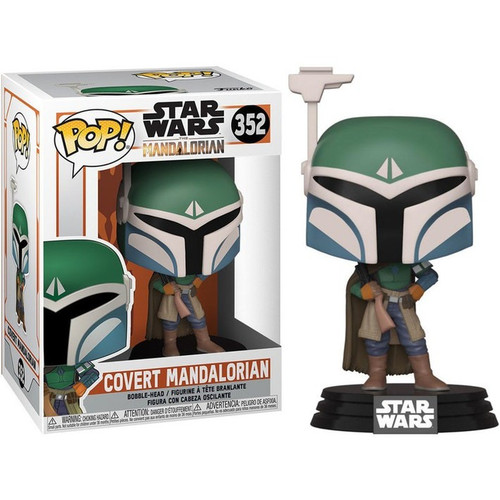 Funko The Mandalorian POP! Star Wars Covert Mandalorian Vinyl Figure #352