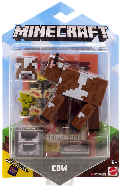 Minecraft Comic Maker Cow Action Figure