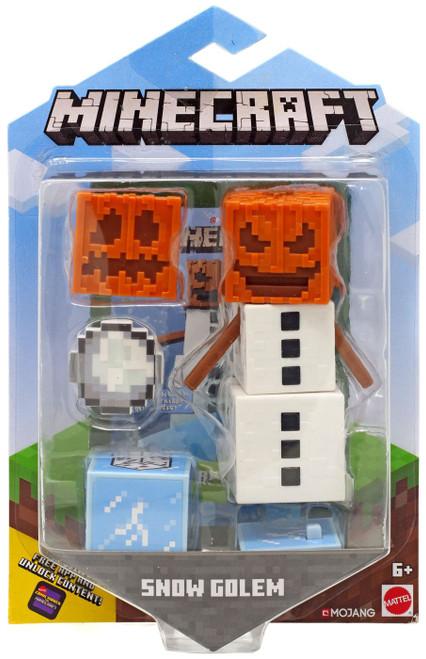 Minecraft Comic Maker Snow Golem Action Figure
