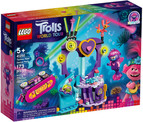 LEGO Trolls World Tour Techno Reef Dance Party Set #41250