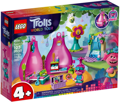 LEGO Trolls World Tour Poppy's Pod Set #41251