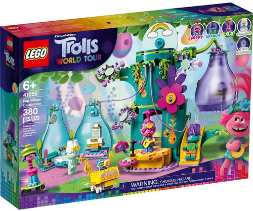 LEGO Trolls World Tour Pop Village Celebration Set #41255