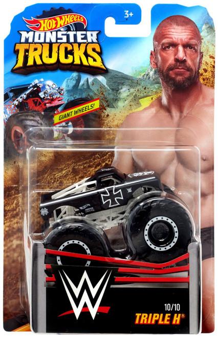 Hot Wheels Monster Trucks WWE Triple H Die-Cast Car