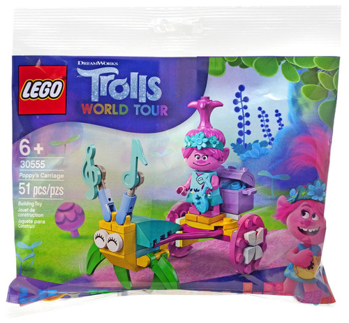 LEGO Trolls World Tour Poppy's Carriage Set #30555