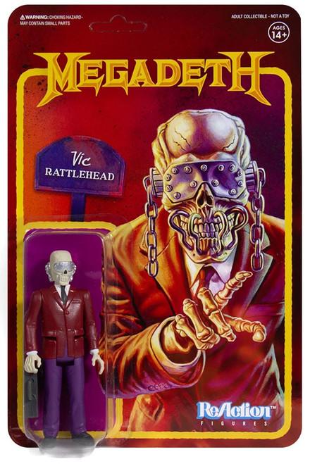ReAction Megadeth Vic Rattlehead Action Figure