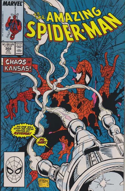 Marvel Comics Vol. 1 The Amazing Spider-Man #302 Comic Book [Very Fine]