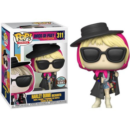 Funko DC Birds of Prey POP! Heroes Harley Quinn Exclusive Vinyl Figure #311 [Specialty Series, Incognito]