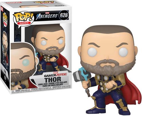 Funko Marvel Avengers GamerVerse POP! Games Thor Vinyl Bobble Head #628 [Stark Tech Suit]