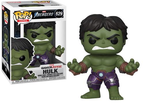 Funko Marvel Avengers GamerVerse POP! Games Hulk Vinyl Bobble Head #629 [Stark Tech Suit]
