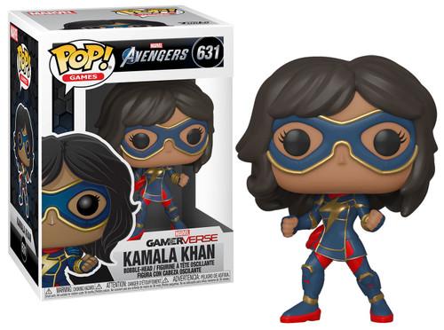 Funko Marvel Avengers GamerVerse POP! Games Kamala Khan Vinyl Bobble Head #631 [Stark Tech Suit]
