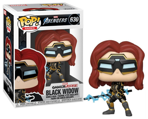 Funko Avengers GamerVerse POP! Marvel Black Widow Vinyl Bobble Head #630 [Stark Tech Suit, Regular Version]