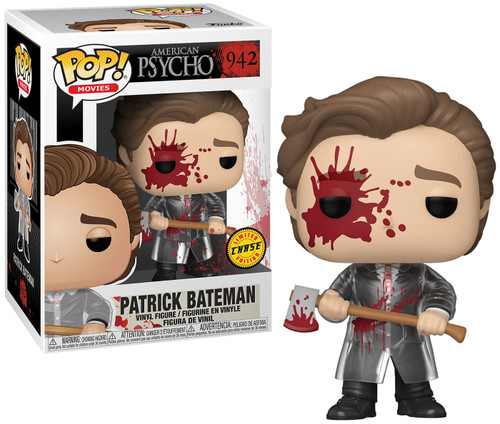Funko American Psycho POP! Movies Patrick Vinyl Figure [Bloody, Chase Version]