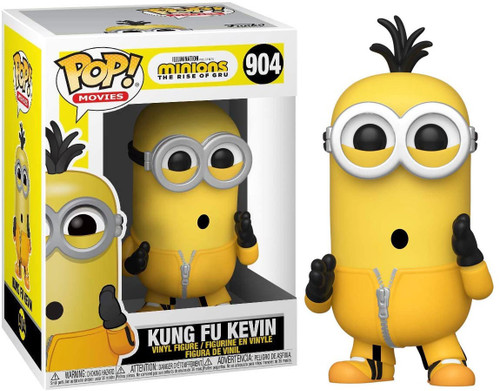 Funko Minions The Rise of Gru POP! Movies Kung Fu Kevin Vinyl Figure