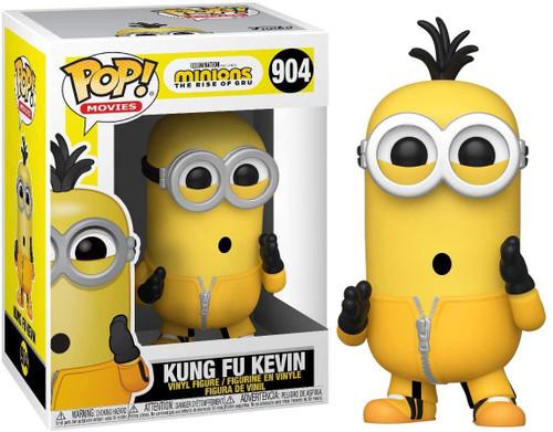 Funko Minions The Rise of Gru POP! Movies Kung Fu Kevin Vinyl Figure