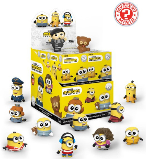 Funko Minions Mystery Minis The Rise of Gru Mystery Box [12 Packs]