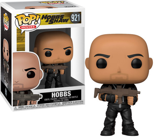 Funko Hobbs & Shaw POP! Movies Hobbs Vinyl Figure