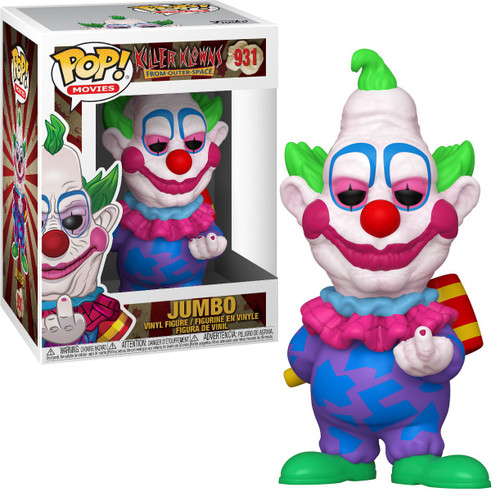 Funko Killer Klowns From Outer Space POP! Movies Jumbo Vinyl Figure #931
