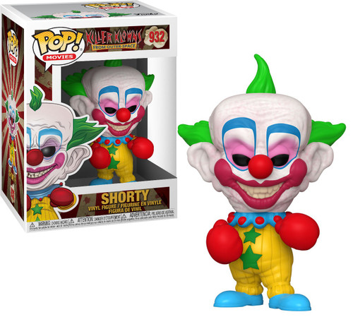 Funko Killer Klowns From Outer Space POP! Movies Shorty Vinyl Figure #932