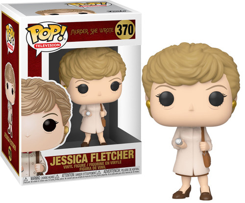 Funko Murder She Wrote POP! TV Jessica with Trenchcoat & Flashlight Vinyl Figure