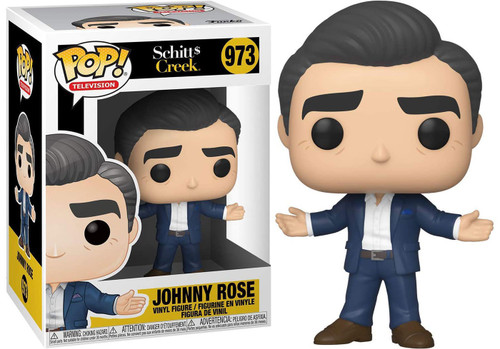 Funko Schitt's Creek POP! TV Johnny Rose Vinyl Figure #973